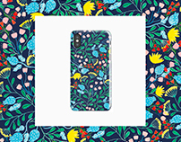 Colorful Flora Surface Pattern Design