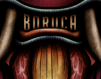 """BORUCA MASK"" Illustration"