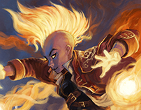Young Pyromancer (Rethought)