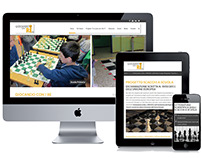 Educational Responsive Website. Chess Project in School