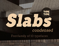 Fontfamily Slabs Condensed
