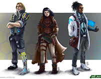 Sci.Fi Characters - JBE
