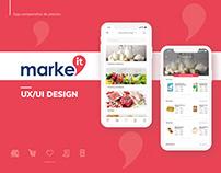 Marke'it - UX UI Design