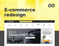 E-commerce Redesign | Galerias del tresillo
