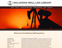 Oklahoma Well Log Library Website