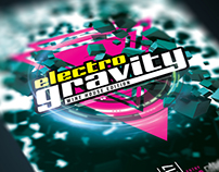 Electro Gravity Flyer Template