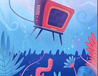 Underwater tv