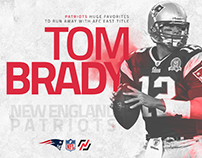 Tom Brady New England Patriots NFL 217