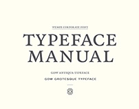Wempe Typeface Manual