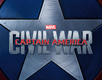 Captain America Civil War | Social Media Graphics
