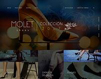 Molet Shoes Web Design - Asturias Spain