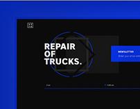 Repair of trucks