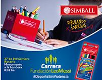 Simball Dibujando Sonrisas - Fundación Leo Messi