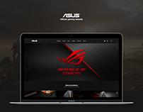 ASUS. Gaming website