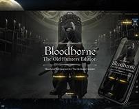 Bloodborne Web Design Concept