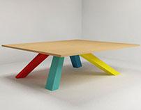 Mesas de centro - concepto mobiliario