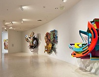 Frank Stella's experiments changed American art. See th