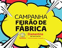 TOYOTA DIAMANTINA - CAMPANHA FEIRÃO DE FÁBRICA