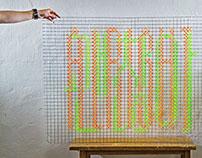 ALRIGHT+괜찮아 :       typographic work