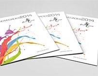 Diseño y maquetación de catálogo para Glassinox