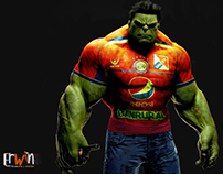 "Hulk Super Chivo ""Xela"""