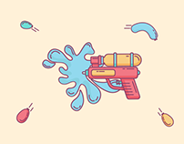 Pichkari ( Water Gun )