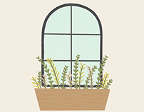 Window Box | Simple Joys Illustration Series