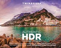 Authentic HDR Photoshop Action