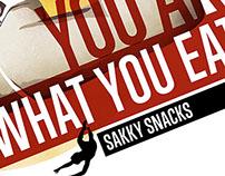 Sakky snacks