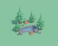 Paper forest assets