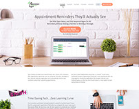 Appointment Reminder - responsive website