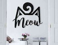 Geometric Metal Wall Decorations