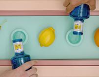 SOLÁN DE CABRAS - Agua y fruta.