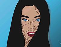 - Blue eyes -