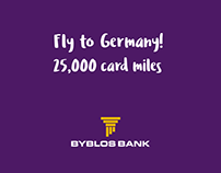 BYBLOS BANK ACTIVATION - FLY TO GERMANY