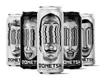 Donetsk Energy Drink Packaging Design 2021