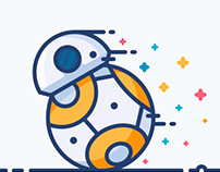 Outline Star Wars Icons
