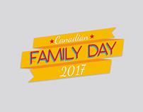 Diseño Gráfico / Canadian Family Day 2017