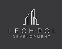 Lech Pol Development logo design