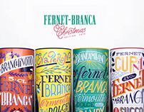 Fernet-Branca Christmas edition tin boxes 2019