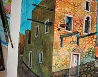 Casa grega abandonada