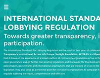 Lobbying Transparency