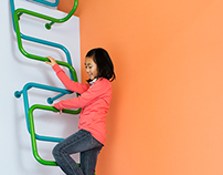 Kidslofty: Children's ladders for Japanese interiors