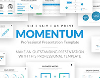 Momentum Professional Business PowerPoint Template