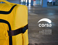 CORSA - two sides suitcase