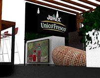 Stand Jumex Unico Fresco