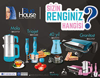 Blue House Product