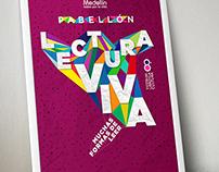 Pabellón Lectura Viva · 8a Fiesta del Libro Medellín