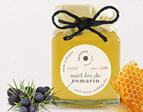 Miel de Provence: honey packaging