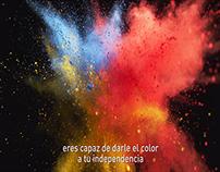 Vístete de independencia - Falabella